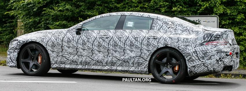 SPYSHOTS: Mercedes-AMG GT four-door seen testing Image #695293