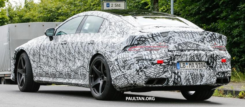 SPYSHOTS: Mercedes-AMG GT four-door seen testing Image #695295