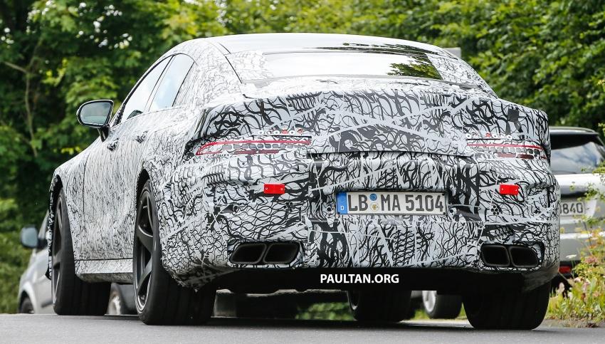 SPYSHOTS: Mercedes-AMG GT four-door seen testing Image #695296