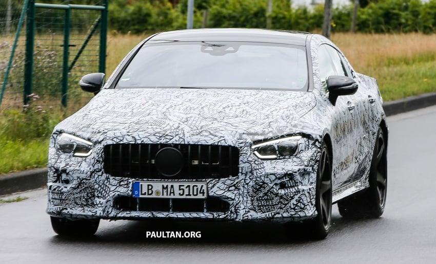 SPYSHOTS: Mercedes-AMG GT four-door seen testing Image #695297