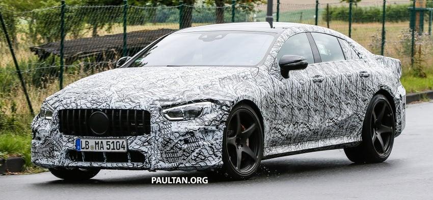 SPYSHOTS: Mercedes-AMG GT four-door seen testing Image #695299