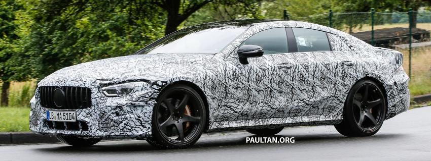 SPYSHOTS: Mercedes-AMG GT four-door seen testing Image #695300