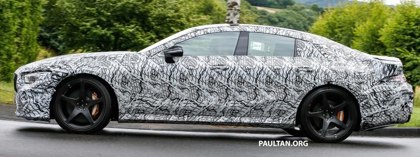 SPYSHOTS: Mercedes-AMG GT four-door seen testing Image #695301
