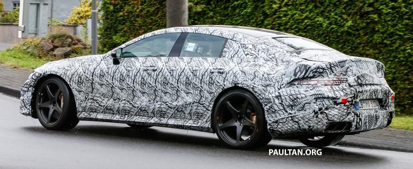 SPYSHOTS: Mercedes-AMG GT four-door seen testing Image #695302