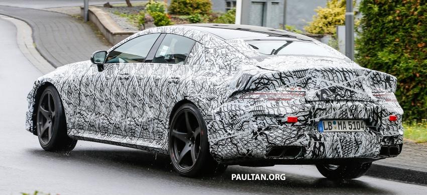 SPYSHOTS: Mercedes-AMG GT four-door seen testing Image #695303