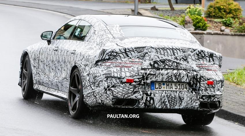 SPYSHOTS: Mercedes-AMG GT four-door seen testing Image #695304