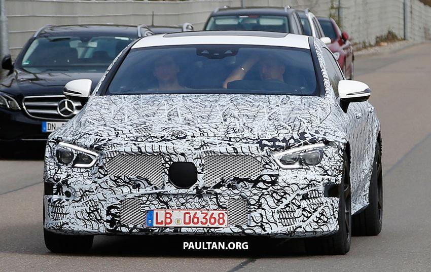SPYSHOTS: Mercedes-AMG GT four-door seen testing Image #696102