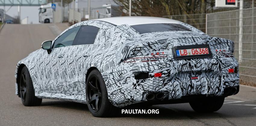 SPYSHOTS: Mercedes-AMG GT four-door seen testing Image #696111