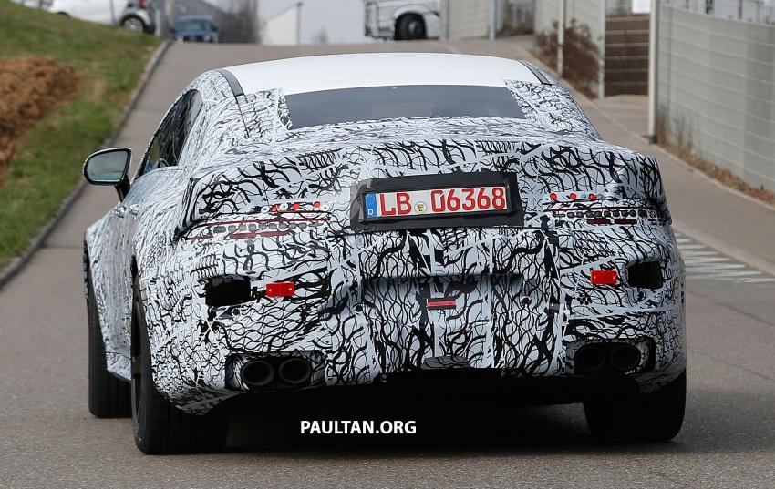 SPYSHOTS: Mercedes-AMG GT four-door seen testing Image #696113
