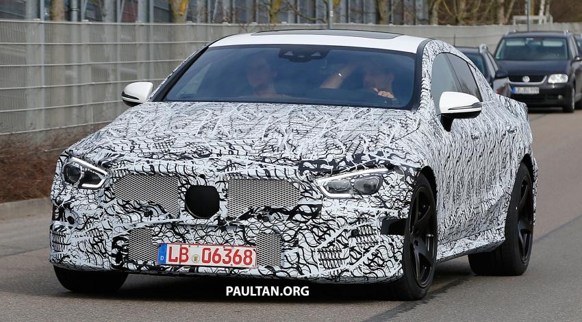 SPYSHOTS: Mercedes-AMG GT four-door seen testing Image #696103