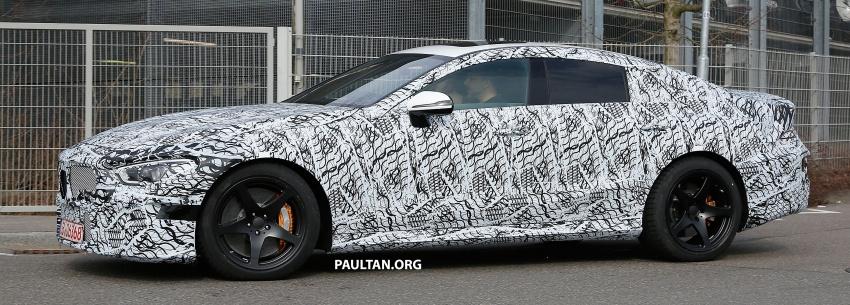 SPYSHOTS: Mercedes-AMG GT four-door seen testing Image #696107
