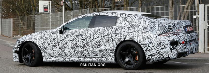 SPYSHOTS: Mercedes-AMG GT four-door seen testing Image #696109