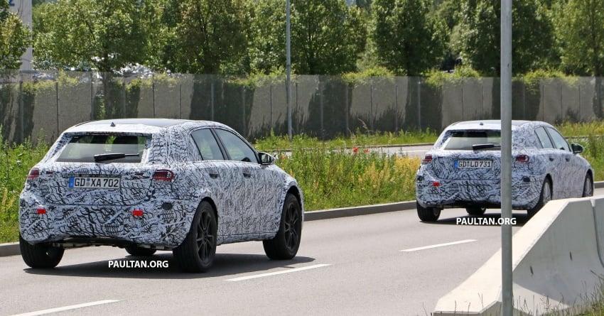 SPIED: 2019 Mercedes-Benz GLA wears A-Class body Image #692144