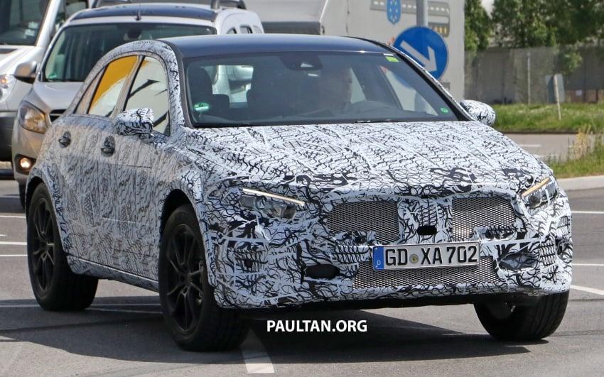 SPIED: 2019 Mercedes-Benz GLA wears A-Class body Image #692137