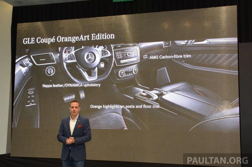 Mercedes-Benz GLE43 Coupe OrangeArt Edition dilancar untuk Malaysia – unit terhad, harga RM719k Image #704175