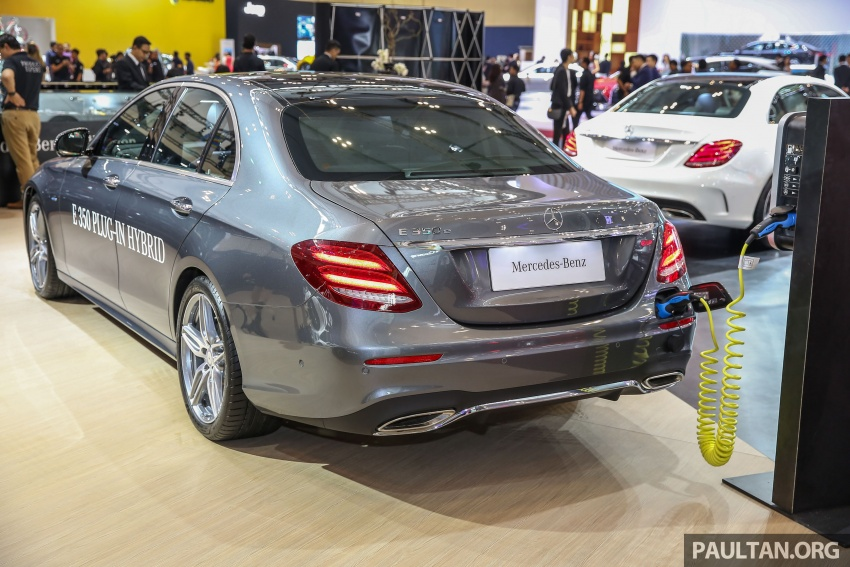 GIIAS 2017: W213 Mercedes-Benz E350e previewed in Indonesia – Malaysian launch this quarter Image #697945