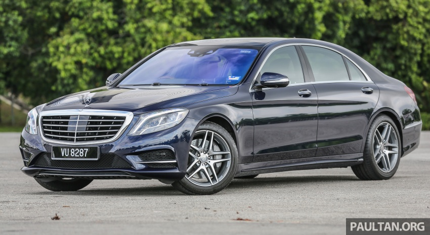 Mercedes-Benz S400h AMG Line debuts – RM599k Image #692844
