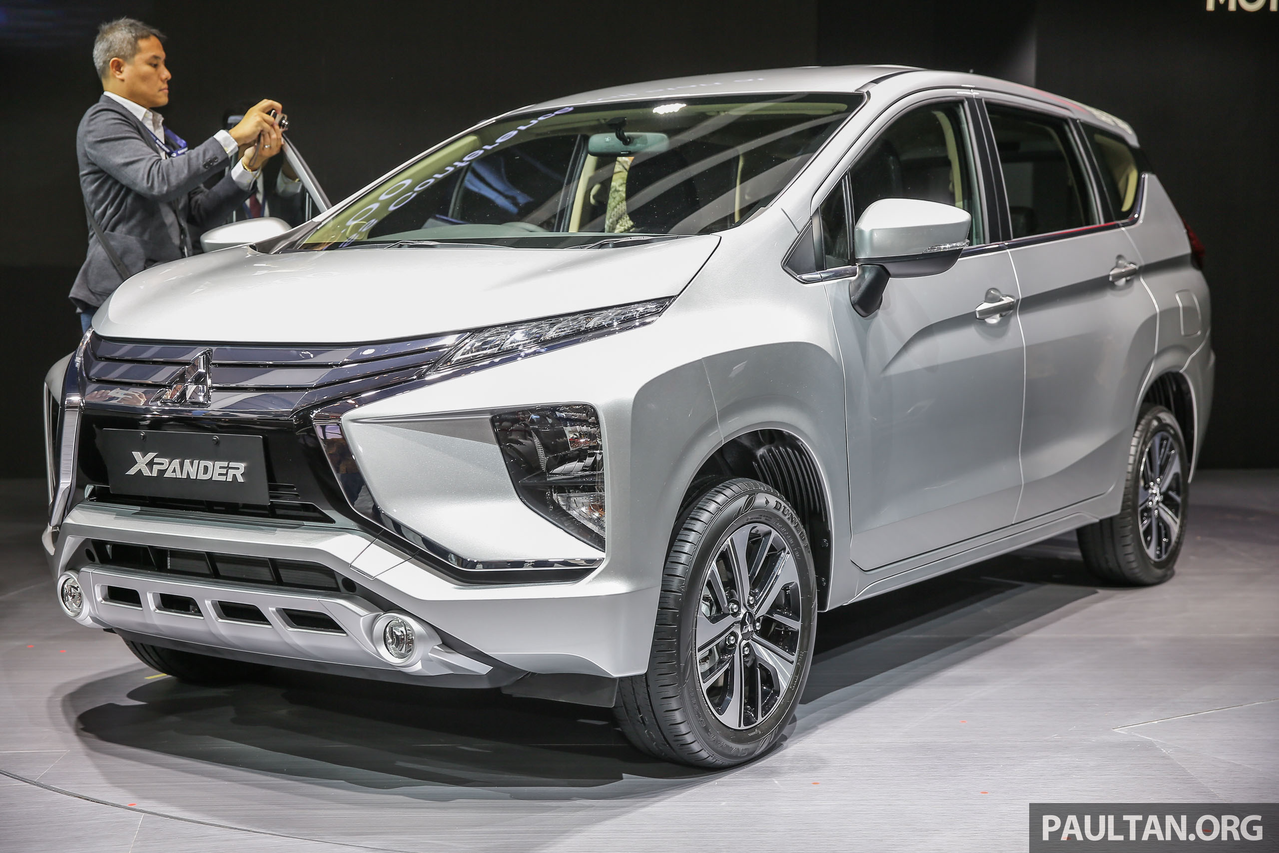 Toyota Suv 2018 Malaysia >> GIIAS 2017: Mitsubishi Xpander - production SUV-styled MPV makes world, Indonesian market debut