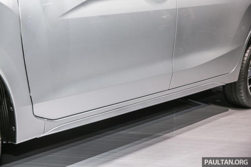 GIIAS 2017: Mitsubishi Xpander – production SUV-styled MPV makes world, Indonesian market debut Image #695650