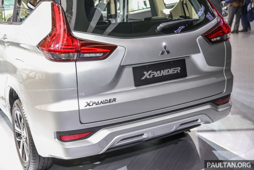 GIIAS 2017: Mitsubishi Xpander – production SUV-styled MPV makes world, Indonesian market debut Image #695654