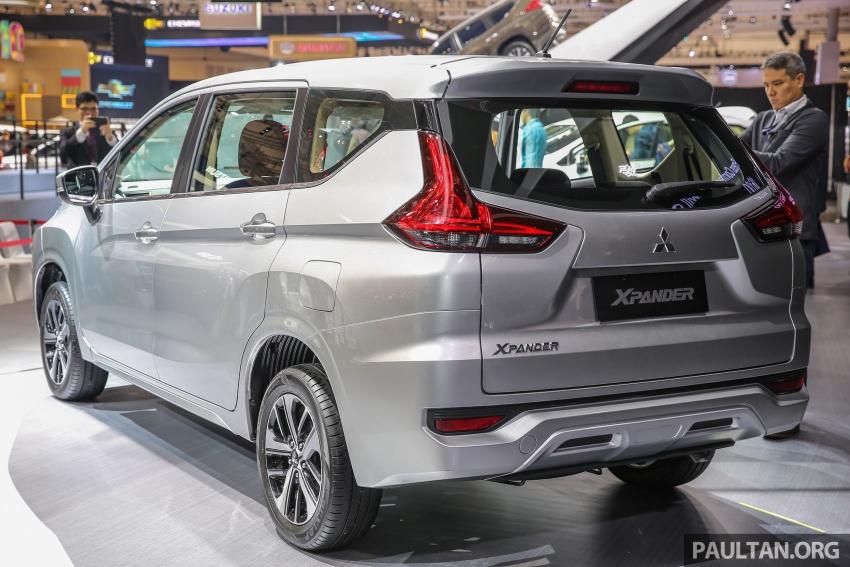 GIIAS 2017: Mitsubishi Xpander – production SUV-styled MPV makes world, Indonesian market debut Image #695619