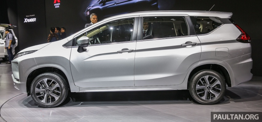 GIIAS 2017: Mitsubishi Xpander – production SUV-styled MPV makes world, Indonesian market debut Image #695634