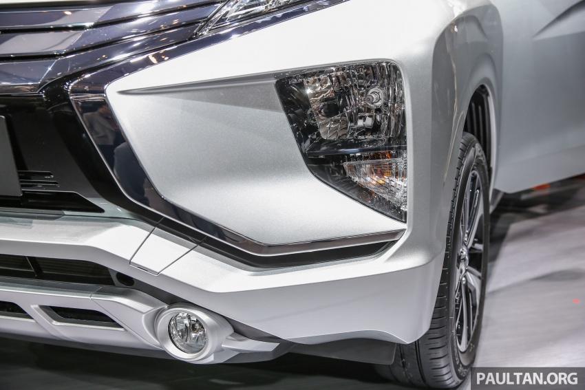 GIIAS 2017: Mitsubishi Xpander – production SUV-styled MPV makes world, Indonesian market debut Image #695644