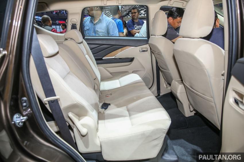 GIIAS 2017: Mitsubishi Xpander – production SUV-styled MPV makes world, Indonesian market debut Image #696926