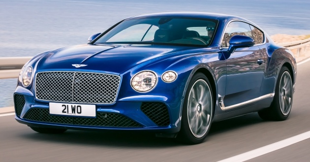 2018 bentley continental gt unveiled – lighter, faster