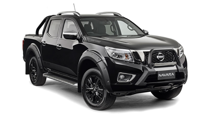 Nissan Navara N-Sport Black Edition for Australia
