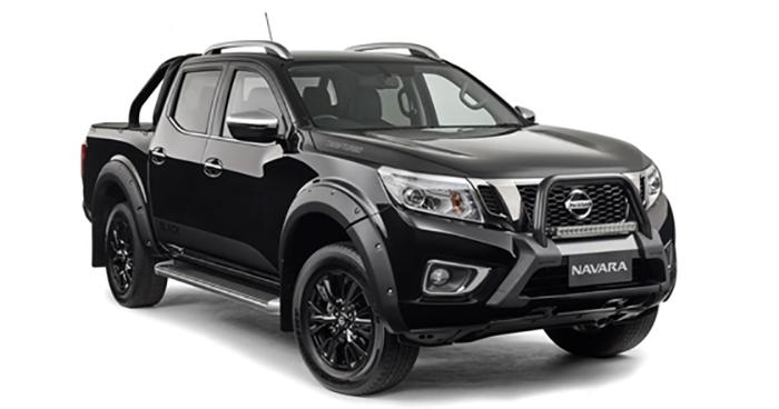 Nissan Navara N-Sport Black Edition for Australia
