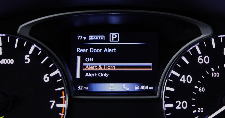 VIDEO: Nissan Rear Door Alert – if you need reminding Image #692941