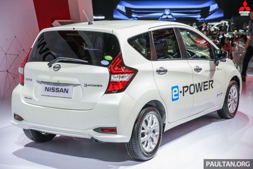 GIIAS 2017: Nissan Note e-Power, a unique JDM hybrid Image #699040