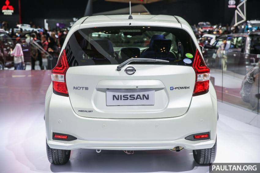 GIIAS 2017: Nissan Note e-Power, a unique JDM hybrid Image #699042