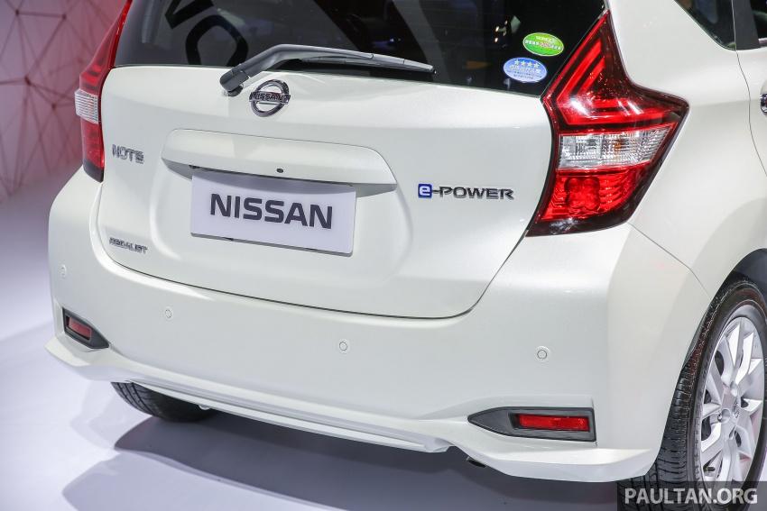 GIIAS 2017: Nissan Note e-Power, a unique JDM hybrid Image #699044