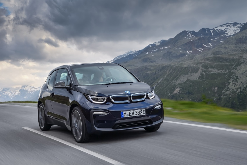 BMW i3 facelift unveiled with sportier 184 hp i3s model Image #704680