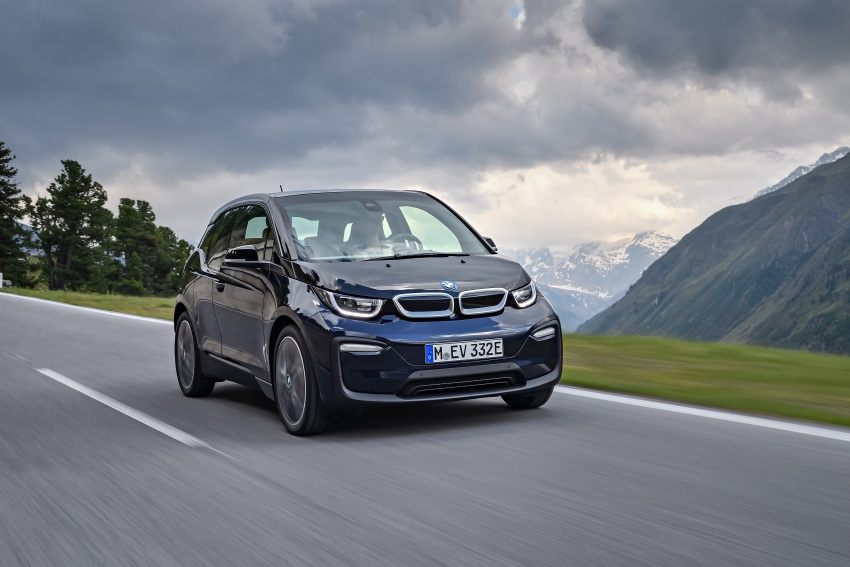 BMW i3 facelift unveiled with sportier 184 hp i3s model Image #704681