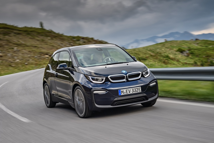 BMW i3 facelift unveiled with sportier 184 hp i3s model Image #704682