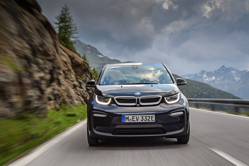 BMW i3 facelift unveiled with sportier 184 hp i3s model Image #704683