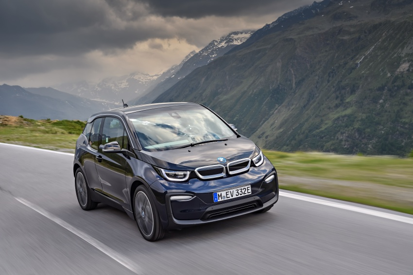 BMW i3 facelift unveiled with sportier 184 hp i3s model Image #704685