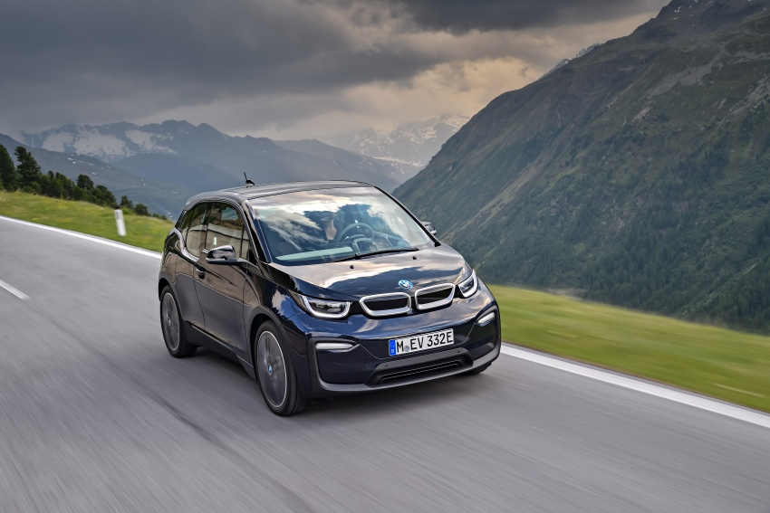 BMW i3 facelift unveiled with sportier 184 hp i3s model Image #704686