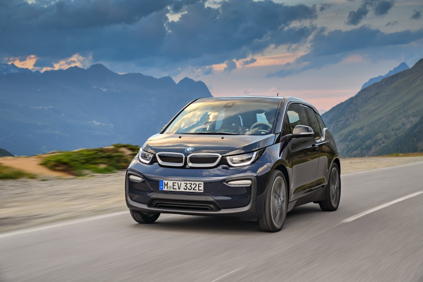 BMW i3 facelift unveiled with sportier 184 hp i3s model Image #704696