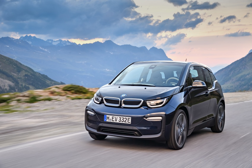 BMW i3 facelift unveiled with sportier 184 hp i3s model Image #704698