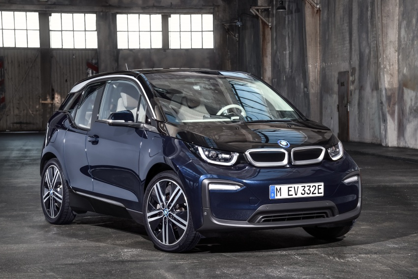 BMW i3 facelift unveiled with sportier 184 hp i3s model Image #704707