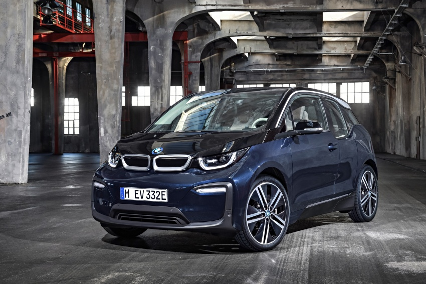BMW i3 facelift unveiled with sportier 184 hp i3s model Image #704714
