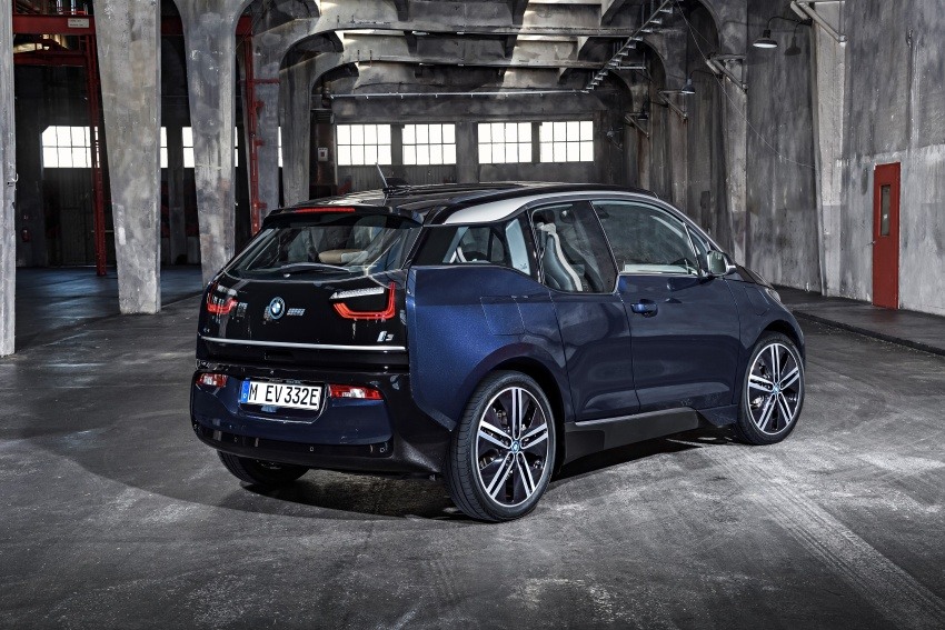 BMW i3 facelift unveiled with sportier 184 hp i3s model Image #704719