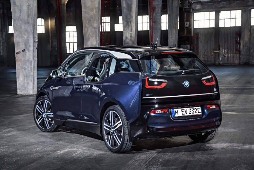 BMW i3 facelift unveiled with sportier 184 hp i3s model Image #704720