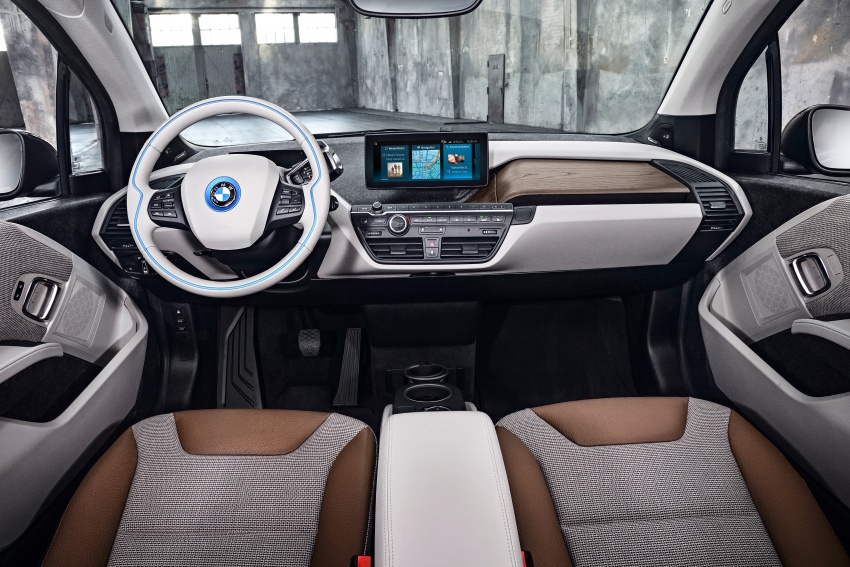 BMW i3 facelift unveiled with sportier 184 hp i3s model Image #704727