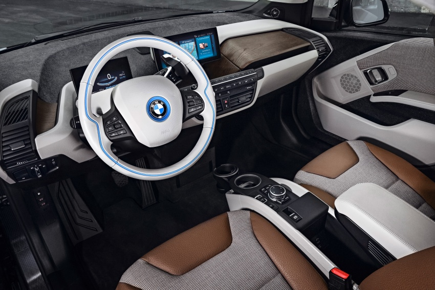 BMW i3 facelift unveiled with sportier 184 hp i3s model Image #704728