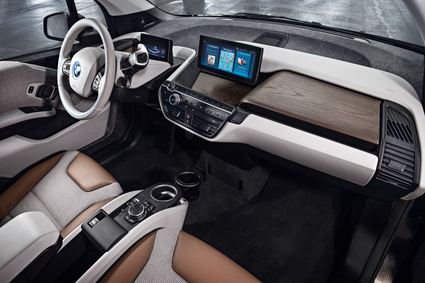 BMW i3 facelift unveiled with sportier 184 hp i3s model Image #704730